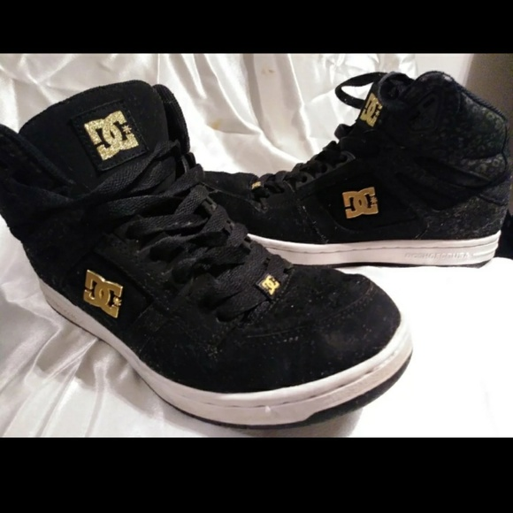 DC Shoes | Dc Rebound High Top Gold